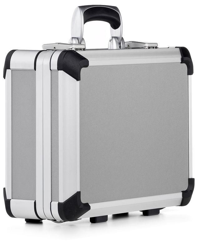 Алюминиевый кейс BWH серии AEX, пустой Внутренний размер: 345x255x85+49...