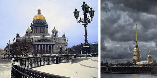 Надвратная церковь Святой Софии.  Санкт-Петербургу.  Исаакиевский собор.
